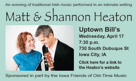 Matt and Shannon Heaton TONIGHT!